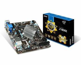Placa Mãe Msi Com Processador Celeron J1800i