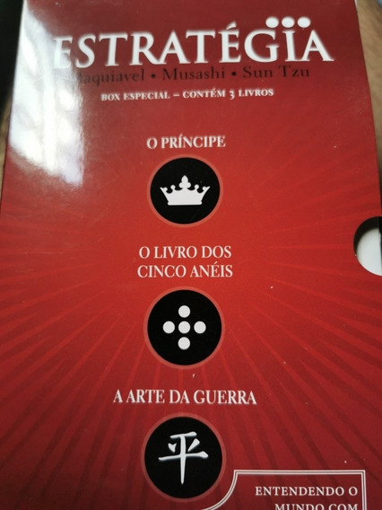 Box 3 Livros Estratégia