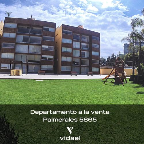 Imagen 1 de 8 de Amplio Departamento En Palmerales, Cuajimalpa