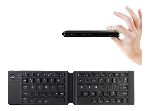 Teclado Bluetooth Plegable Compatible Android Ios Windows