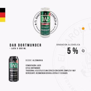 Cerveza Importada Dab Lata X 500 Ml - Alemania
