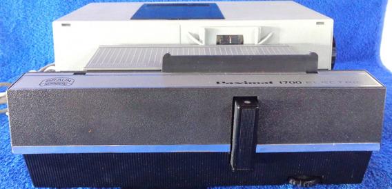 Projetor Slides Paximat 1700 Electric Braun Nurnberg N° 4796