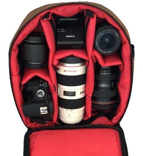 Mochila Fotográfica West Vmb Ii Nikon Canon Sony Fujifilm