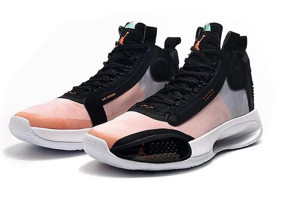 Tênis Jordan 34 Xxxlv Amber Rise Novo Lançamento Lebron 17