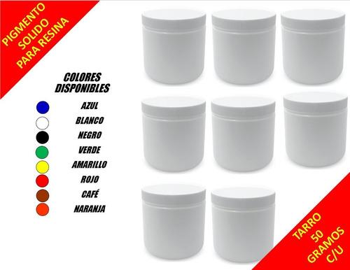 8 Piezas Colorante/pintura/pigmento Solido-resina Epoxica