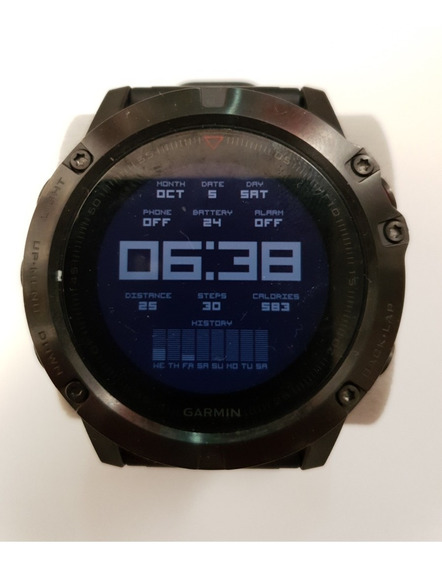 Smartwatch Garmin Fênix 5x Safira 51mm, Mais Fita Fc