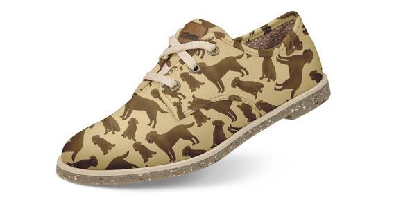 Sapato Usthemp Legend Vegano Casual Estampa Labrador