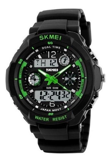Reloj Skmei Digital Contra El Agua Uso Rudo Sumergible 0931