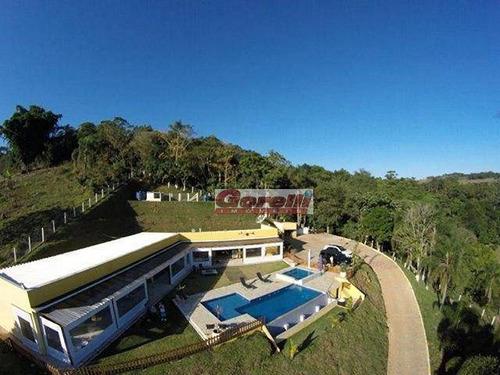 Imagem 1 de 30 de Chácara Com 4 Dormitórios À Venda, 3999 M² Por R$ 1.600.000,00 - Varadouro - Santa Isabel/sp - Ch0107