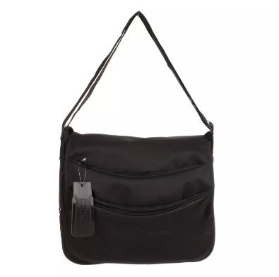 Morral Black Con Solapa By Lsyd 93.3200