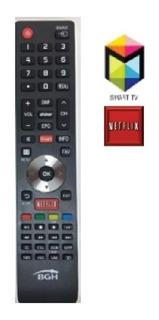 Control Remoto Netflix Noblex Bgh Sanyo Sansei Er-33911
