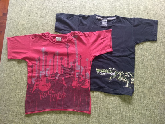 Lote Remera Gimos Talle 6