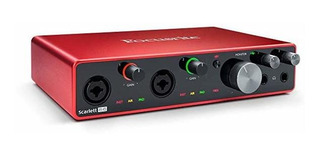 Placa Audio Focusrite Scarlett 8i6 3rd Gen Usb Audio Placa ®