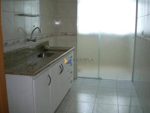 Apartamento Para Alugar, 70 M² Por R$ 1.400,00/mês - Vila Bancária - Guarulhos/sp - Ap0111