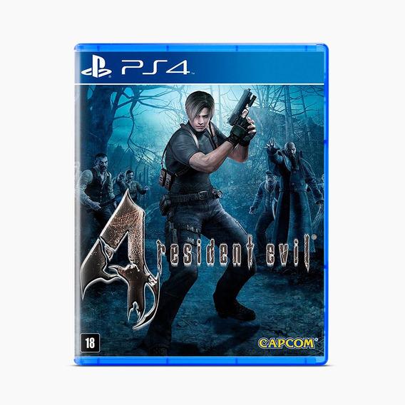 Resident Evil 4 (remastered) - Ps4