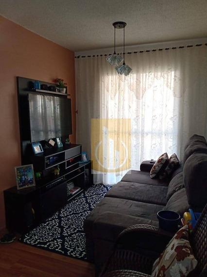Lindo Apartamento Com 3 Dormitórios À Venda, 56 M² Por R$ 190.000 - Jardim São Miguel - Ferraz De Vasconcelos/sp - Ap0183