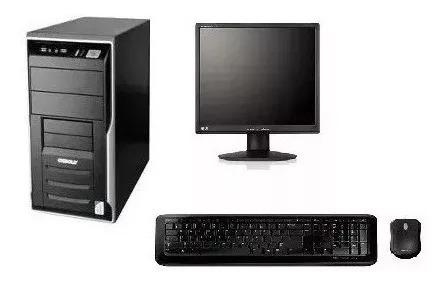 Cpu Completa Core 2 Duo / 4gb / Hd 250 / Wifi/ Monitor 17
