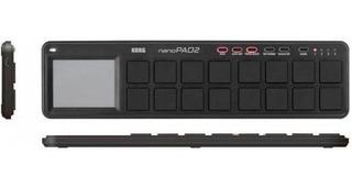 Controlador Midi Korg Nanopad2 Color Negro