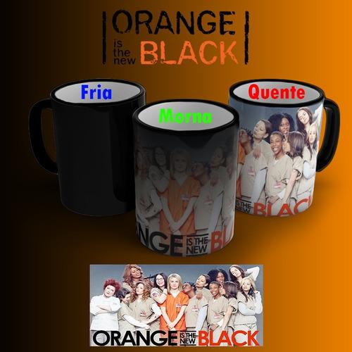 Imagem 1 de 2 de Caneca Orange Is The New Black Mágica