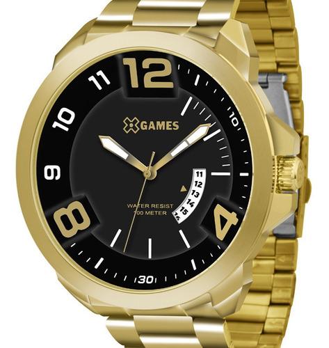 Relógio X-games Masculino Xmgs1016 P2kx C/ Garantia E Nf
