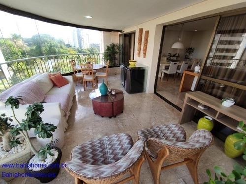 Imagem 1 de 20 de Apartamento Alto Do Parque 272m² Com 4 Suítes - Itaigara / Pituba - Ap1127ma