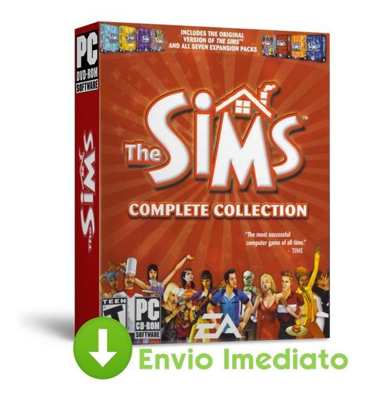 The Sims 1 - Oficial Games - Coleção Completa - Todas Expansões - Expansões Português 2019 Envio Imediato