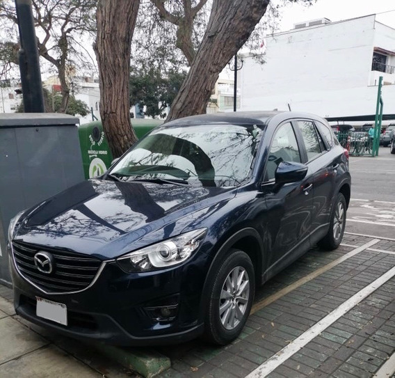Mazda Cx5 At 2.0 Camioneta Color Azul