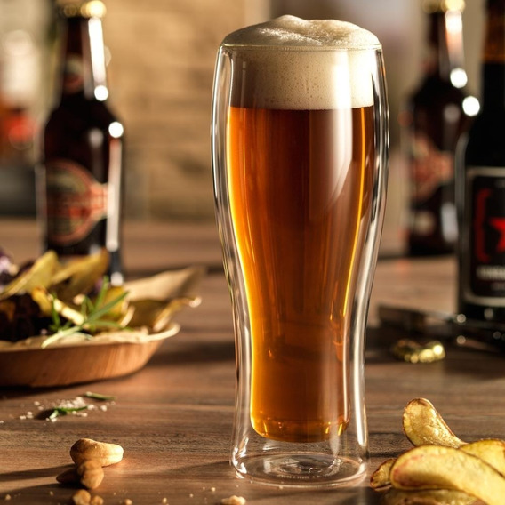 Jogo 2 Copos P/ Cerveja Parede Dupla 414ml Zwilling Sorrento
