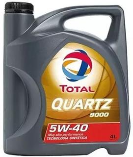 Aceite Total Quartz 9000 5w40 X 4 Litros 100 % Sintético