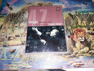 Dvd Beethoven Symphonies Nos 4 E 7 Berliner Claudio Abbado