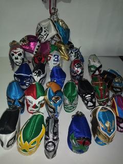 Llaveros Mini Mascara De Lucha Libre Varios Modelos Luchador