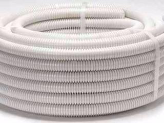 2 Rollos Cable 2.5mm + Corrug 3/4 Blanco Reforzado Ignifug