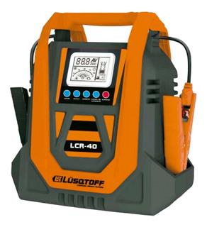 Cargador De Bateria 12/24v 20a Lusqtoff Lcr-40