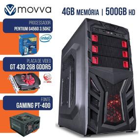 Computador Gamer Mvxp Intel Pentium 3.5ghz 7ª Ger Mem 4gb
