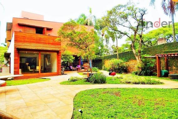 Um Fascinante Projeto De Casa, De Lar, De Uma Vida Exclusiva No Alto De Pinheiros - Ca0421