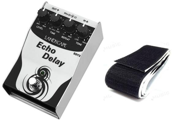 Pedal Landscape Echo Delay 2 Edy2 Guitarra + Brinde Adesivo