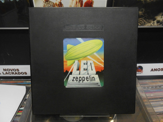 Lps Box Led Zeppelin - Wea Collection -5 Discos Como Novos