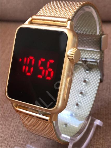 Kit 5x Relógio Unissex Digital Touch Super Barato Promoção