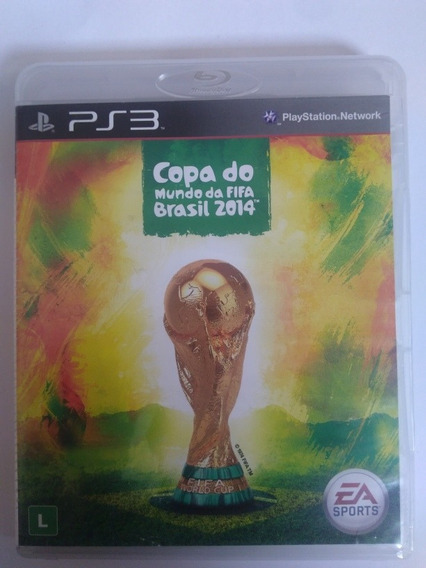 Jogo Fifa Copa Do Mundo 2014 Ps3 Midia Fisica R$19,90