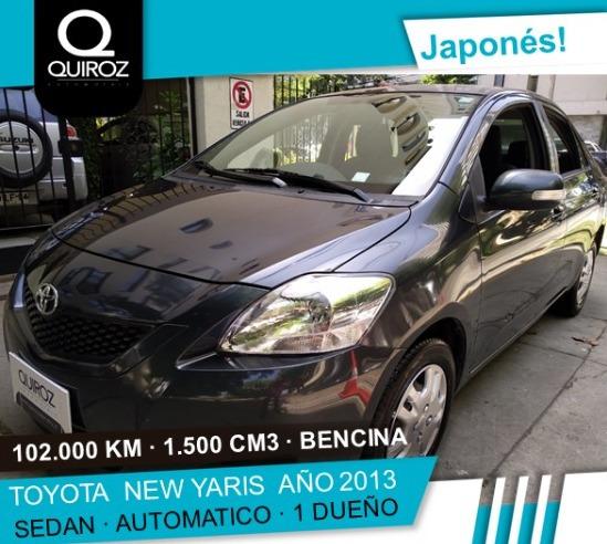 Toyota New Yaris Gli Full Automático Año 2013