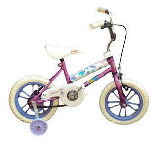 Bicicleta Rod.12 Varón/dama Piñon Libre Singuardabarro C/eg