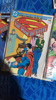 Dc Comics Man Of Steel 80s Por Byrne,john