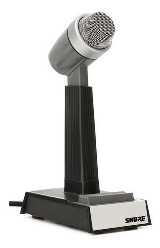 Microfone Cardioide De Mesa Shure 522