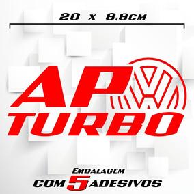 Adesivos Ap Turbo - 5 Adesivos- Motor Ap - Lançamento