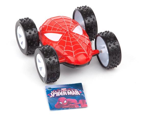 Spiderman Auto A Fricciòn Original Ditoys