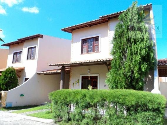 Casa Duplex Em Condomínio No Passaré. - Ca0497