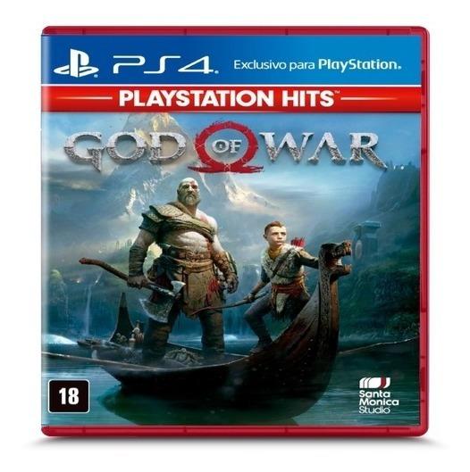 God Of War Ps4 100% Português Midia Física Caixa Plástica