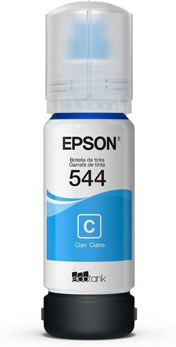 Imagen 1 de 2 de Tinta Epson Ecotank T544 Cyan
