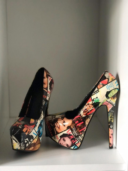 Zapatos Importados Con Plataforma