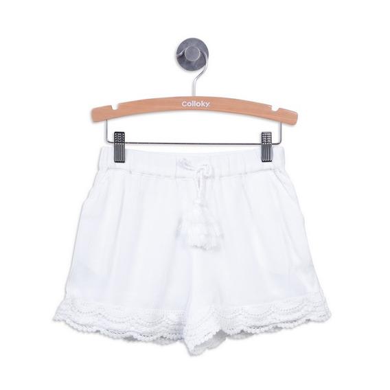 Short Blanco Girl Colloky